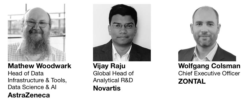 Mathew Woodwark AstraZeneca and Vijay Raju Novartis